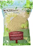 Food To Live Certified Organic Sesame Seeds (Raw, Hulled, Kosher) (2 Pounds)
