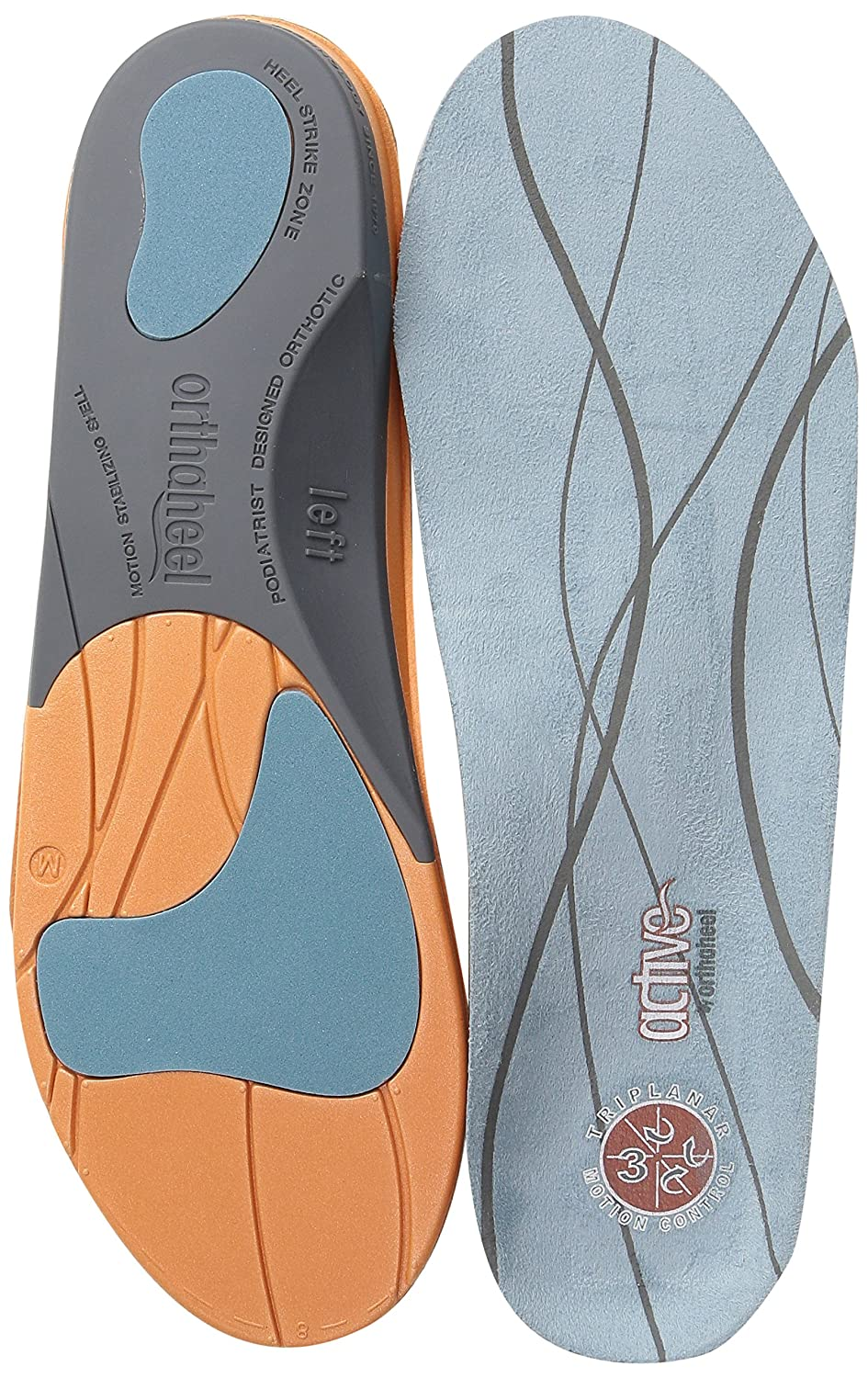 Orthaheel active men's / women's full-length orthotics