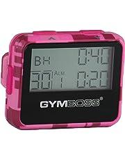 Gymboss Timer a intervalli programmabili e Cronometro – Colore rosa mimetico lucido