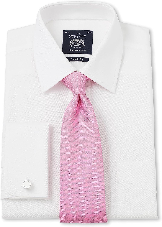 Savile Row - Camisa de Ajuste clásico para Hombre, Color ...
