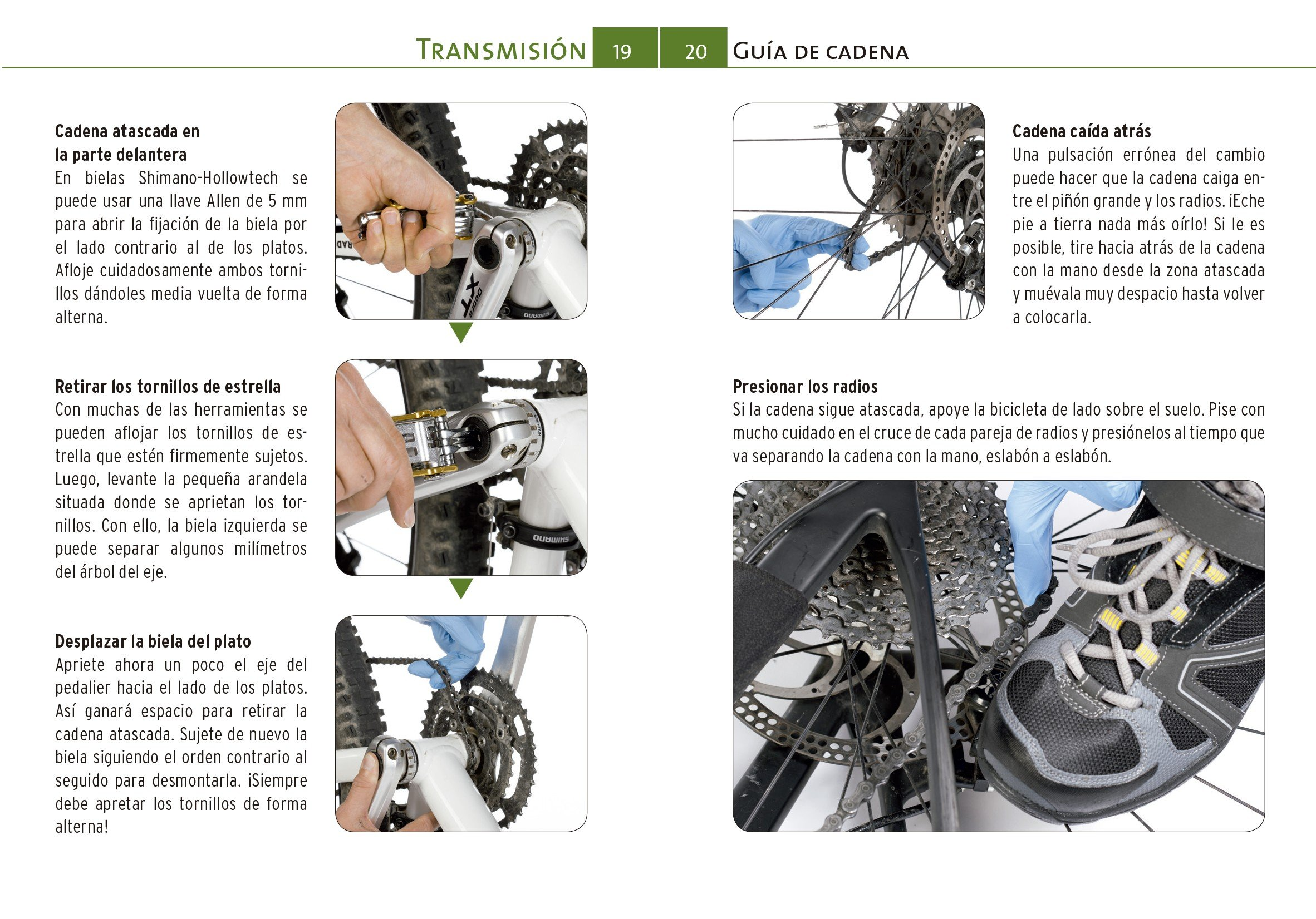 GUIA DE BOLSILLO REPARACIONES EN RUTA MOUNTAIN BIKE: Jochen / Simon, Daniel Donner: 9788416676361: Amazon.com: Books