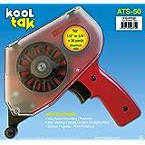 KOOL TAK ATS 50 Adhesive Tape Applicator, Red