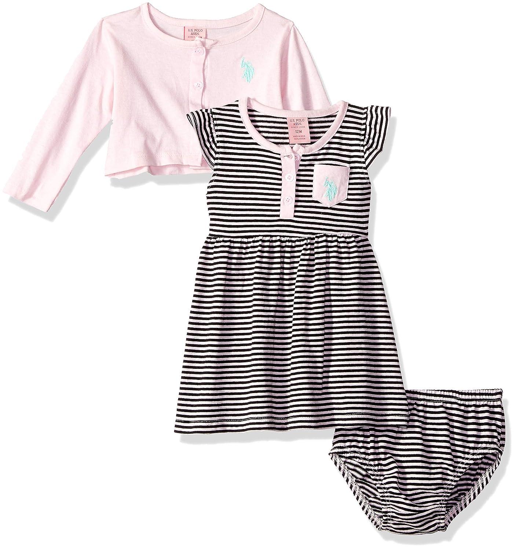 Fashion Style Baby Girls Petit Bateau White Dress Age 12 Months Girls' Clothing (newborn-5t)