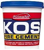 Everbuild KOSBUF2K KOS - Cemento refrattario, 2 kg (Buff)