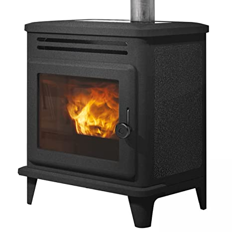 EDIL camino e804860 Lille stufa pellet in ghisa 8 KW: Amazon.it: Fai ...
