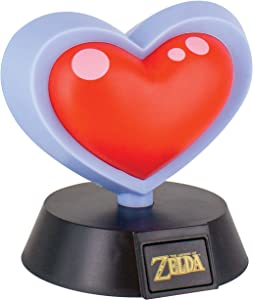 Paladone Nintendo Officially Licensed Merchandise - The Legend of Zelda Heart Container Icon Light - Collectible Decorative Light