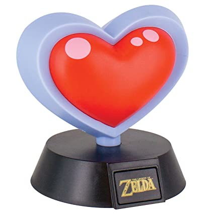 Image result for Paladone The Legend Of Zelda [Heart Container] Icon Light