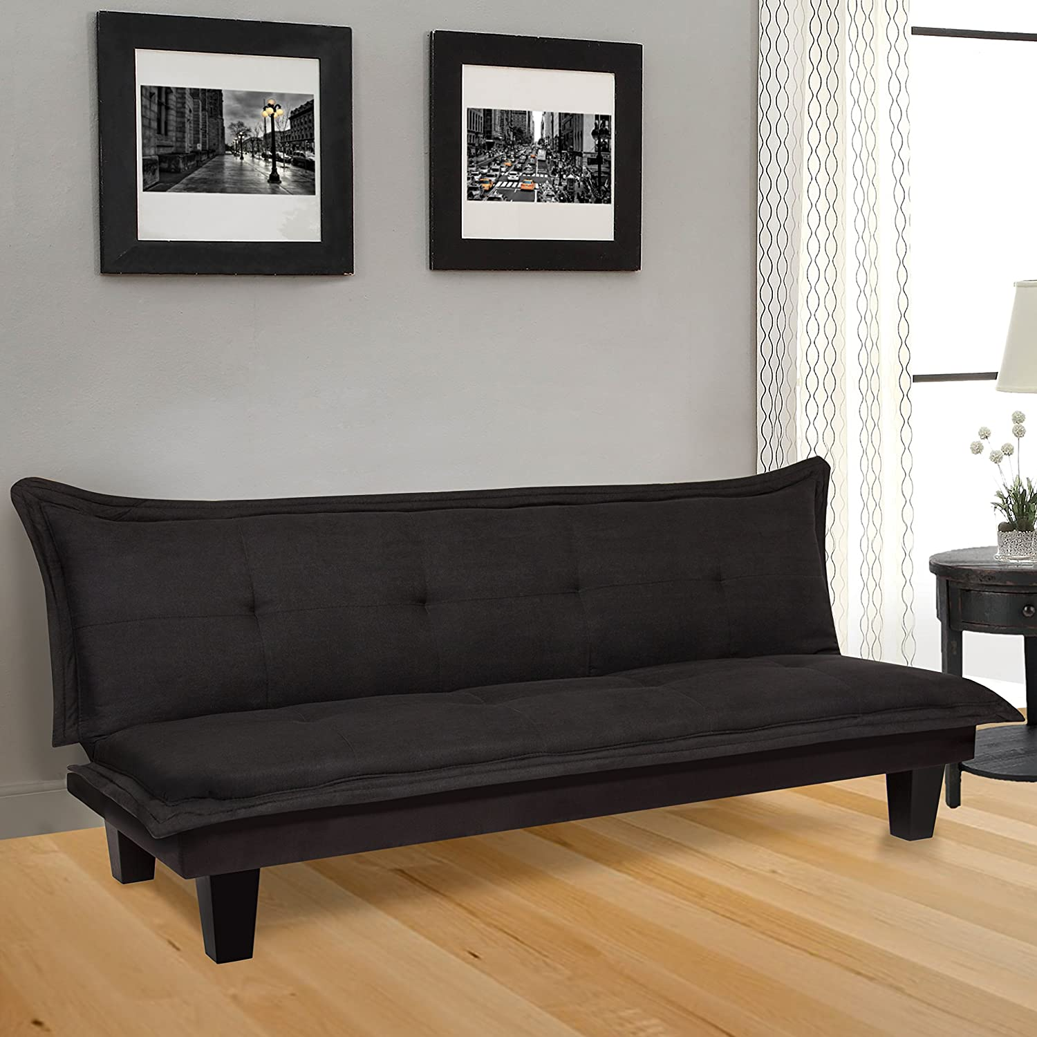 Amazon Best Choice Products Convertible Modern Futon Couch