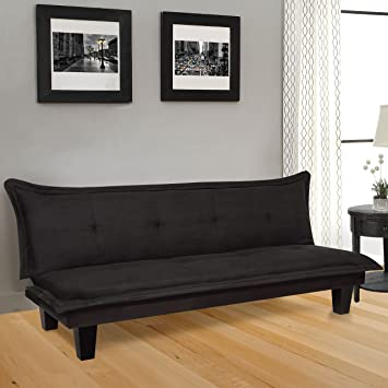 Amazon.com: Best Choice Products Convertible Modern Futon Couch ...