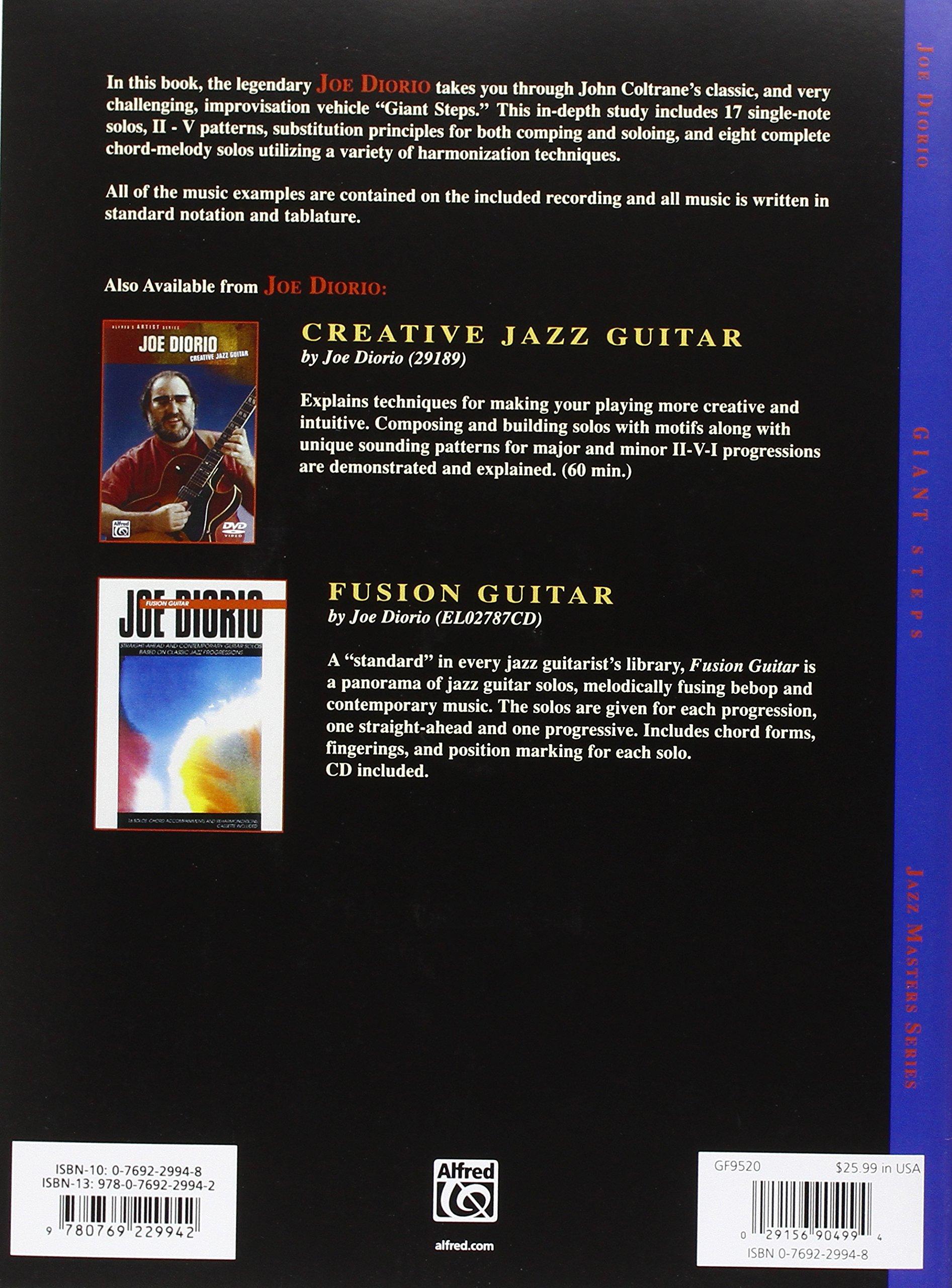 Giant Steps Joe Diorio 9780769229942 Amazon Books