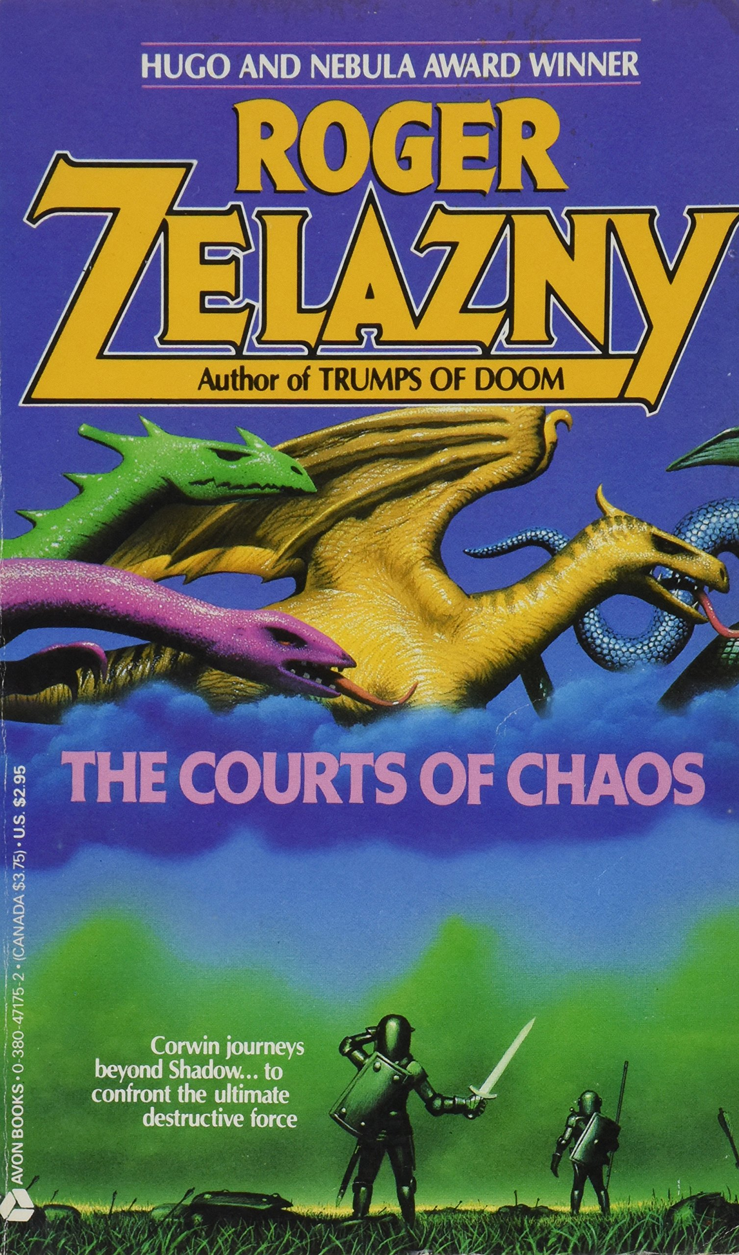 Ebook The Courts Of Chaos The Chronicles Of Amber 5 By Roger Zelazny