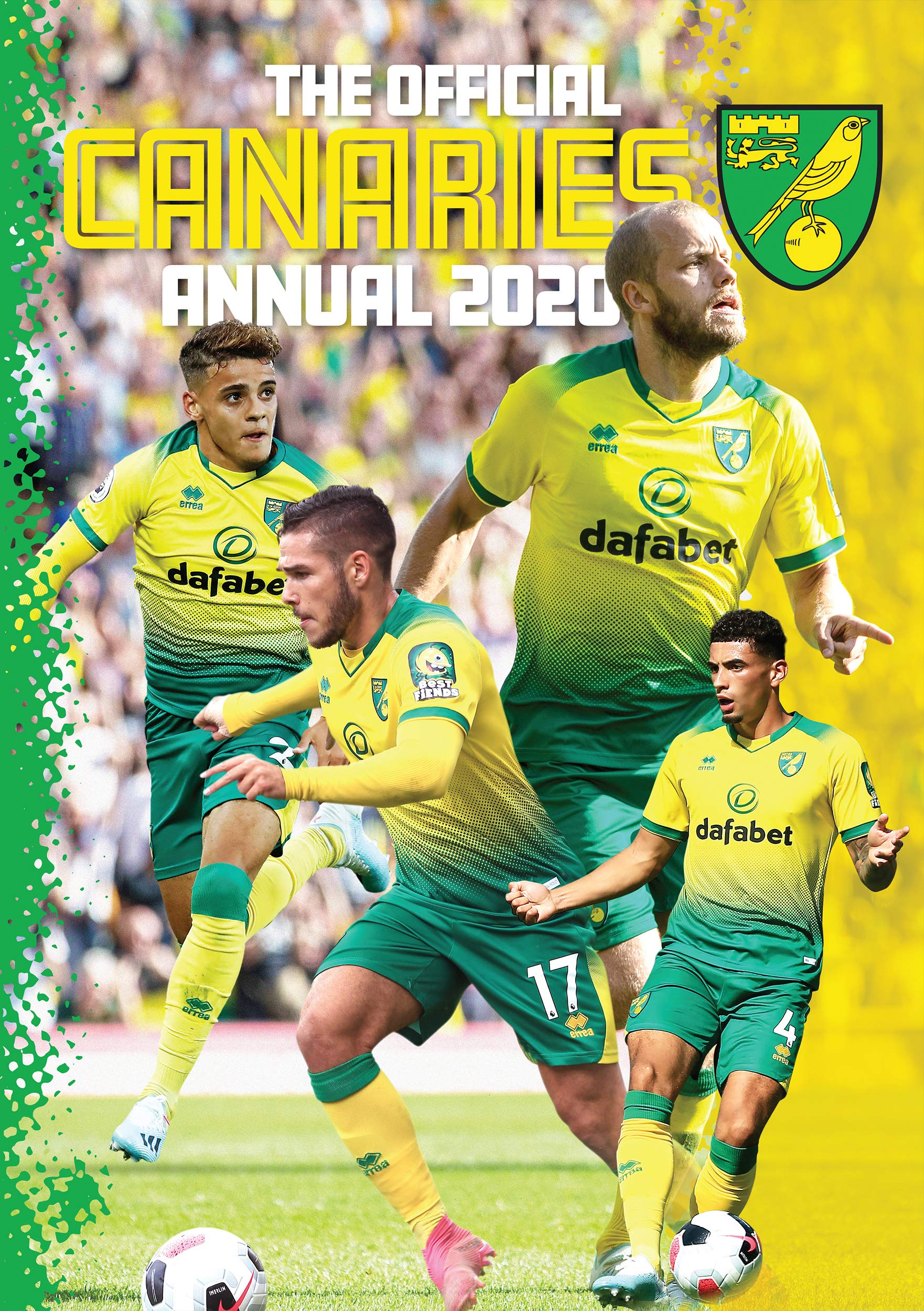 The Official Norwich City Fc Annual 2020 Amazon Co Uk Twocan 9781911502760 Books