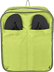 Travelon Expandable Packing Cube, Lime, One Size