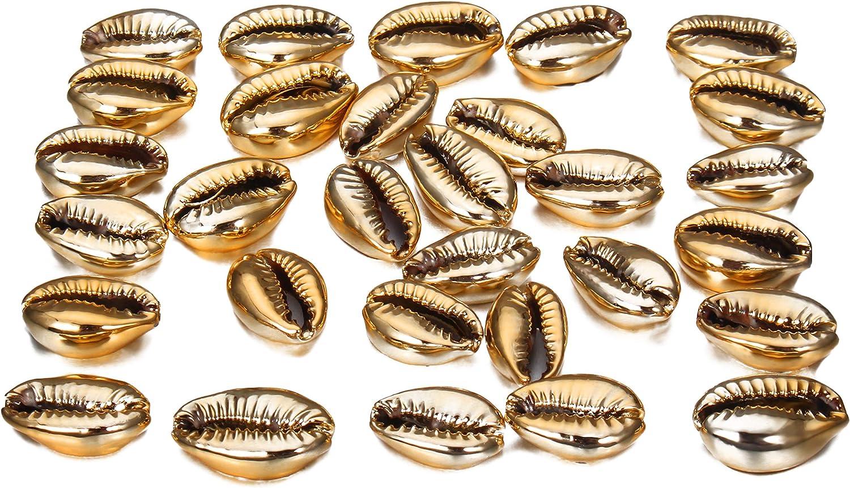 14~40x10~20x3~15mm Peru Hole: 1mm; 30 Natural Spiral Shell Beads Dyed