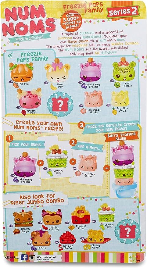 Amazon.es: Num Noms- Deluxe Pack Series 2 Big Brunch Special Muñecos coleccionables y Playsets, Multicolor (Bandai 544197): Juguetes y juegos