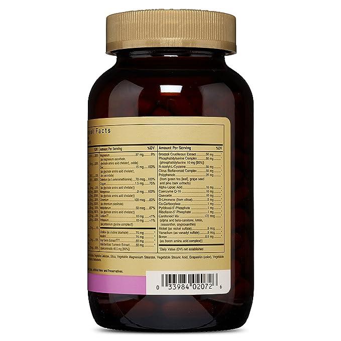 Solgar Omnium Vitaminas - 180 Tabletas: Amazon.es: Salud y cuidado personal