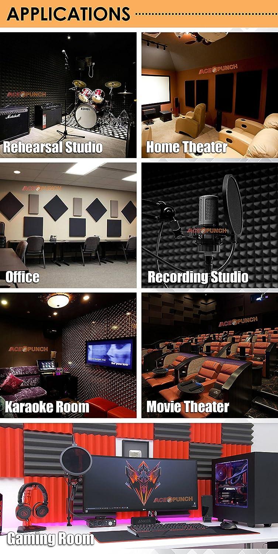 ace punch pi ge basses acoustique studio en mousse d. Black Bedroom Furniture Sets. Home Design Ideas