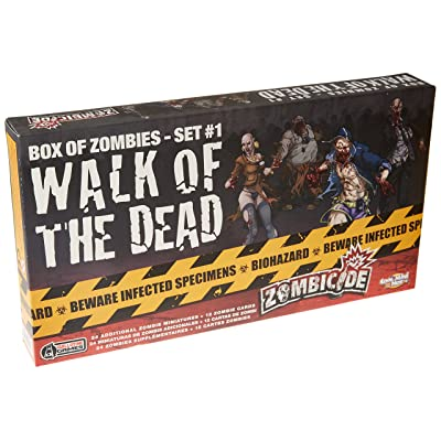 CMON Zombicide: Walk of The Dead Box: Toys & Games