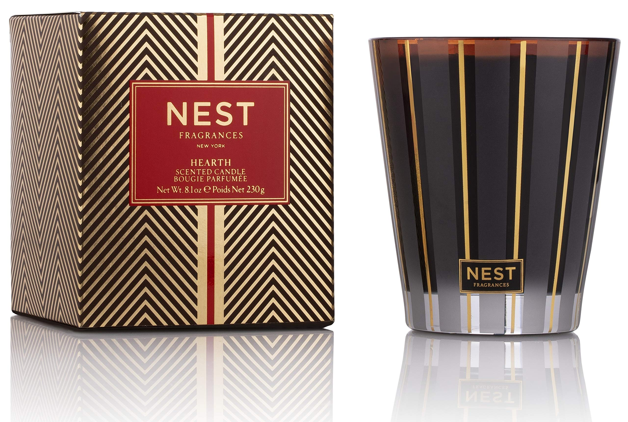 NEST Fragrances Classic Candle- Hearth, 8.1 oz by NEST Fragrances