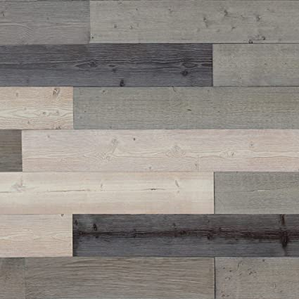 Self Adhesive Wall Panelsreclaimed Weathered Wood Wall Plankspeel