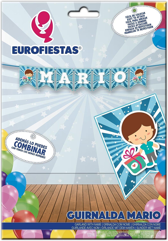 EuroFiestas Guirnalda Nombre Mario