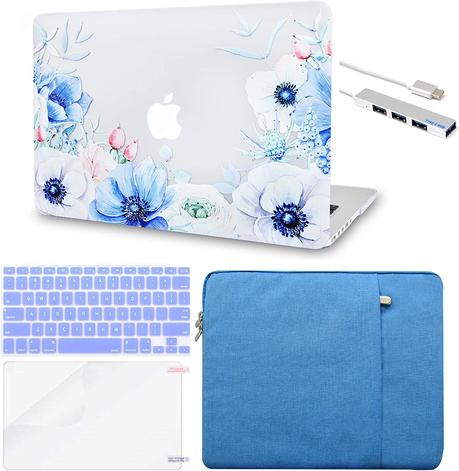 LuvCase Laptop Case Compatible with MacBook New Air 13