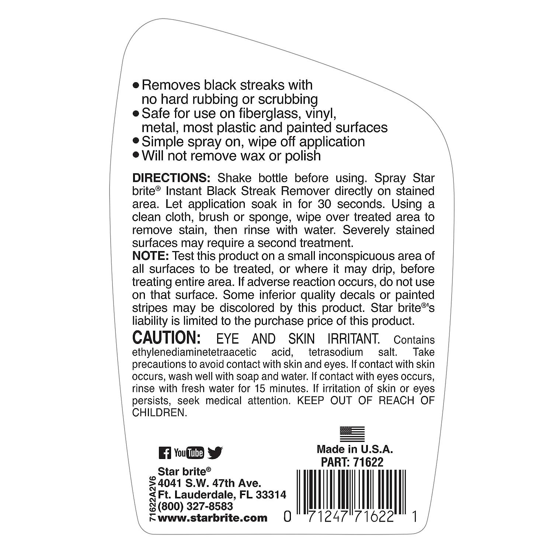 Star brite Instant Black Streak & Stain Remover Spray 22 oz.