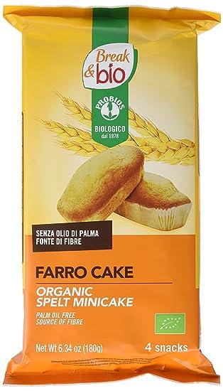 Probios Break&Bio Minicake de Espelta - 12 paquetes