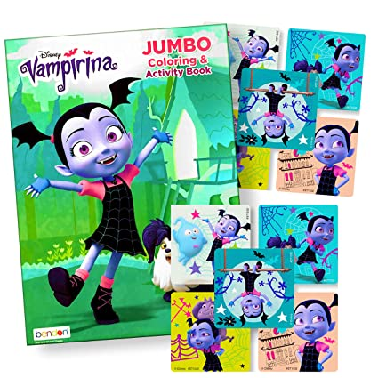Vampirina Coloring Book With Stickers Vampirina