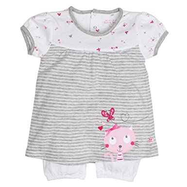 Salt and Pepper NB Playsuit Sunshine Kurz, Pelele para Bebés, Gris (Grey-Melange 212), 62 cm: Amazon.es: Ropa y accesorios