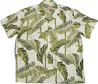 product image for Paradise Found Mens Tree Tops Shirt Beige XL