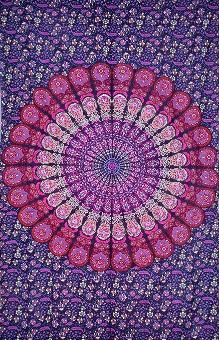Pink   Purple Mandala Tapestry  9188409b17