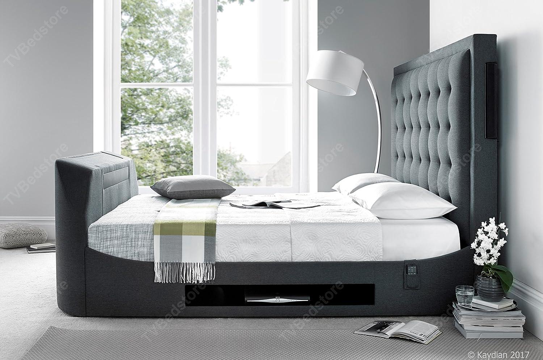 Die Titan Super King Size Multi Media TV-Bett: Amazon.de: Küche ...