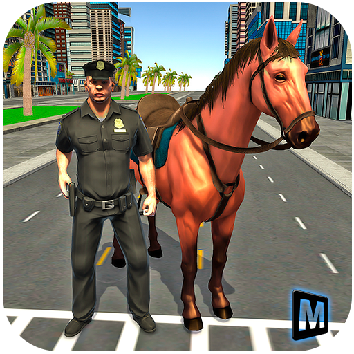 Mounted Counters (Mounted Horse Police Chase 3D)