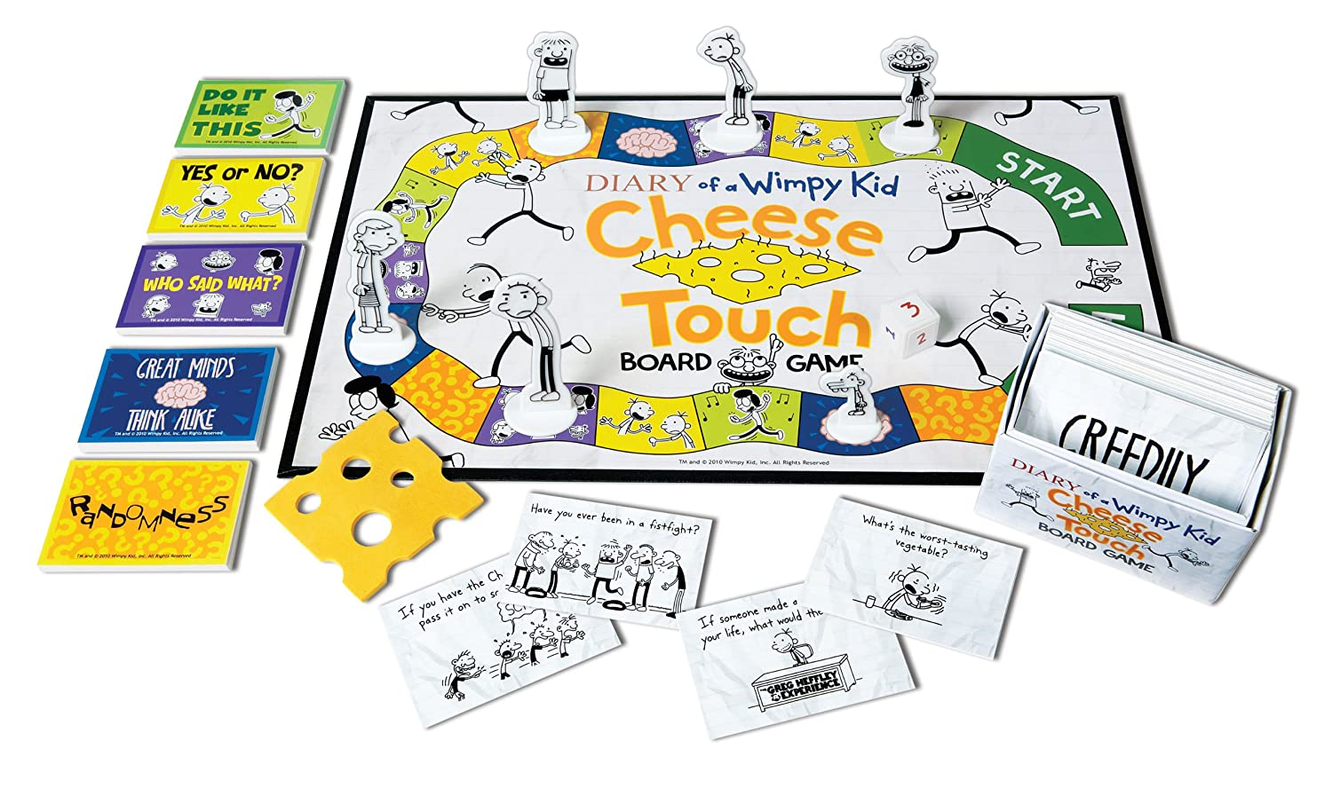 Amazon paul lamond games diary of a wimpy kid cheese touch amazon paul lamond games diary of a wimpy kid cheese touch board game toys games solutioingenieria Gallery