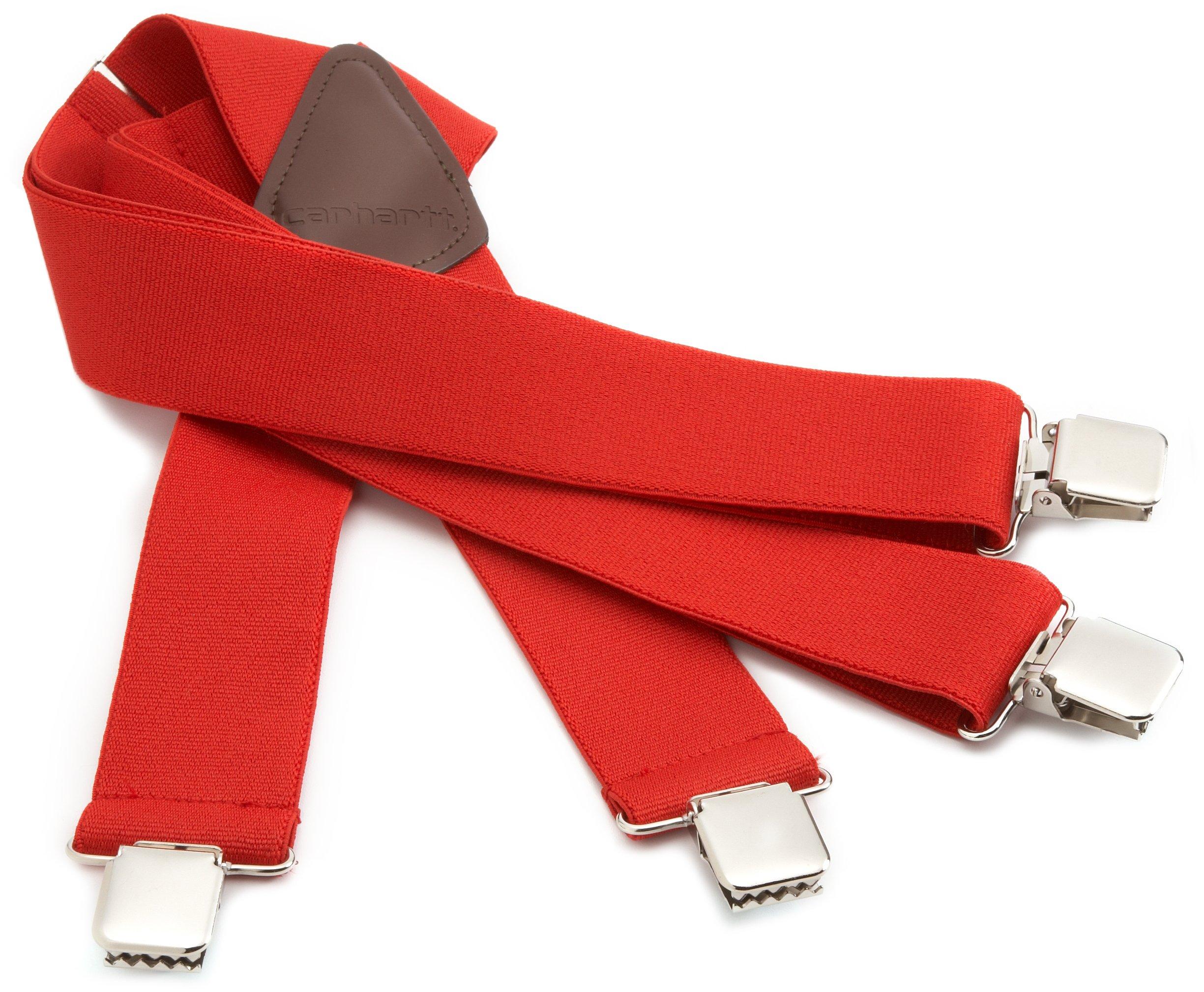 Carhartt Men's Utility Suspender,Red,One Size