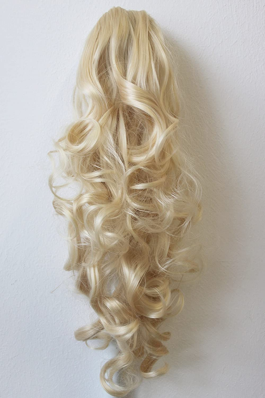 PRETTYSHOP 60cm parrucchino, coda di cavallo, le estensioni dei capelli, resistente al calore ondulato H101