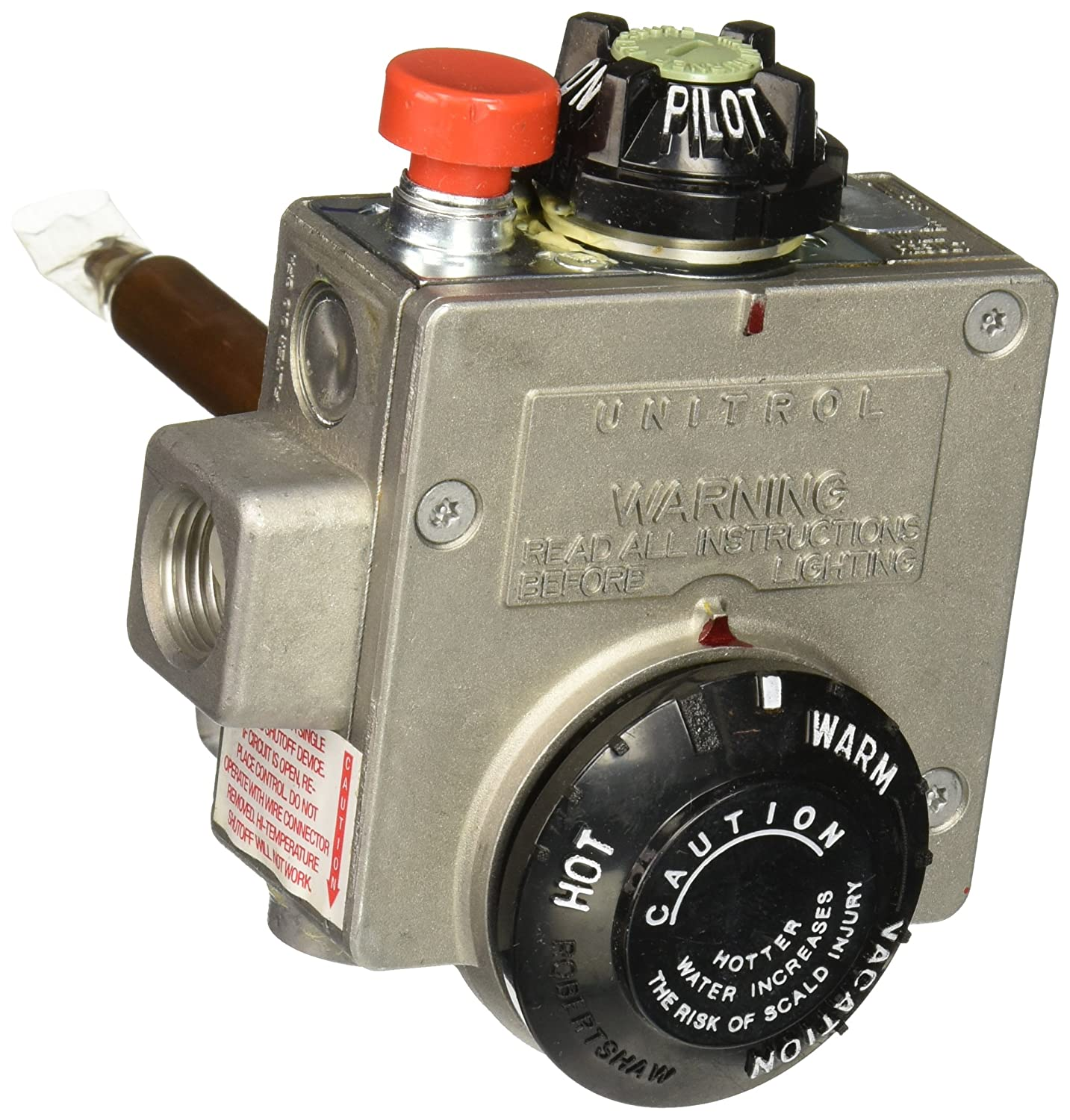 AmericanTitle 24 Natural Gas Water Heater Thermostat, Up To 50 Gallons