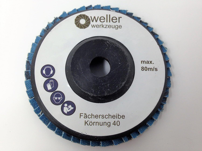 acier inoxydable et meuleuses d/'angle sans fil W/ürth BTI Berner Accessoires pour meuleuses /à bois Jeu de 3 disques dentel/és/Grain 40 Pour Bosch GWS 10,8 10 8 12 V 12 76