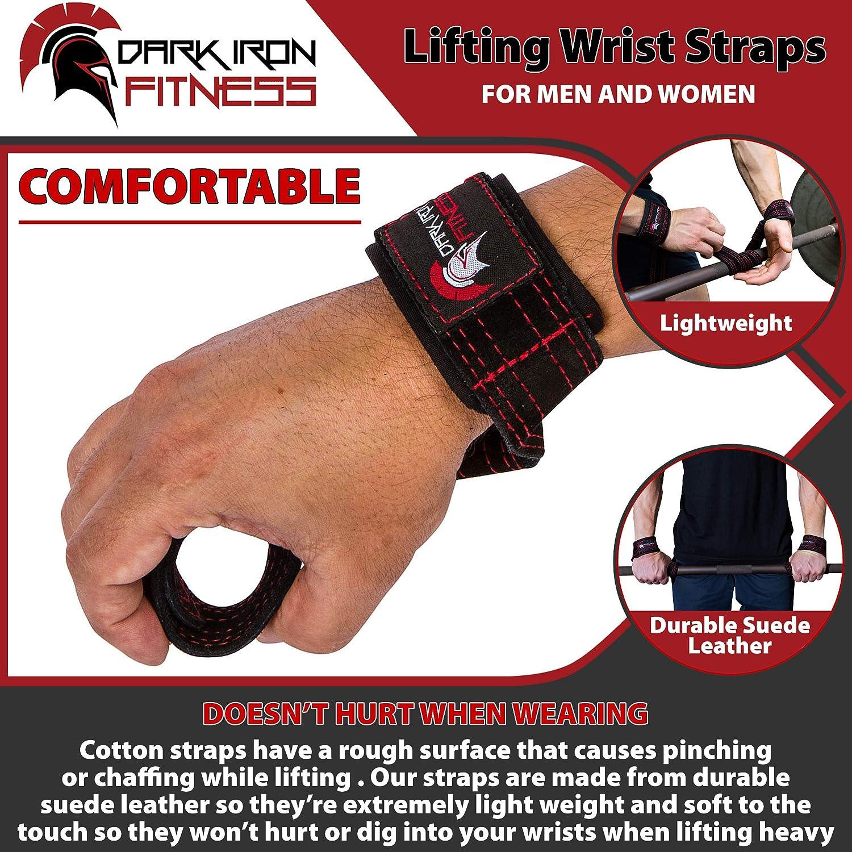 How Heavy Weightlifting Affects Diet - Dark Iron Fitness wrist straps