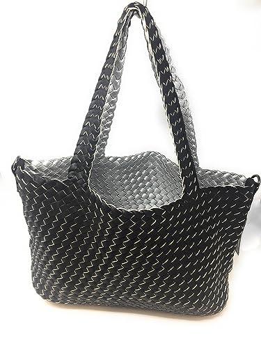 537045a2c029c Shopper Mit Tasche Bag In Extra Geflochten Wende n0kwPO