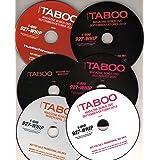 ADULT DVD PACKS - TABOO - LOT OF 6 (MAGAZINE BONUS DVDS PULLED AT RANDOM)