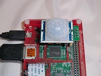 PIR-2-Pi Motion Sensor for Raspberry Pi Zero WH, Pi 3, Pi 2, B+, A+, A and  B models - PIR Infra Red Movement Sensor & GPIO clip for Raspberry Pi
