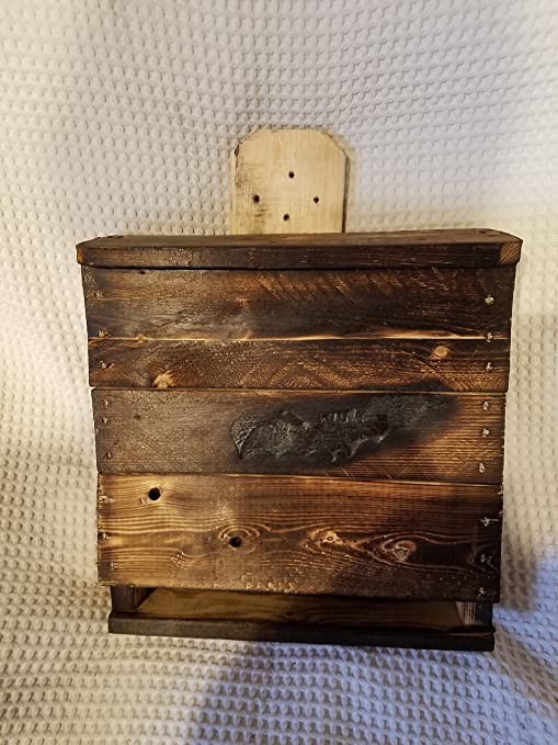 Amazon.com : Bat House. Two Chamber. 1 unit. HOUSE FOR BATS. ATTRACT on