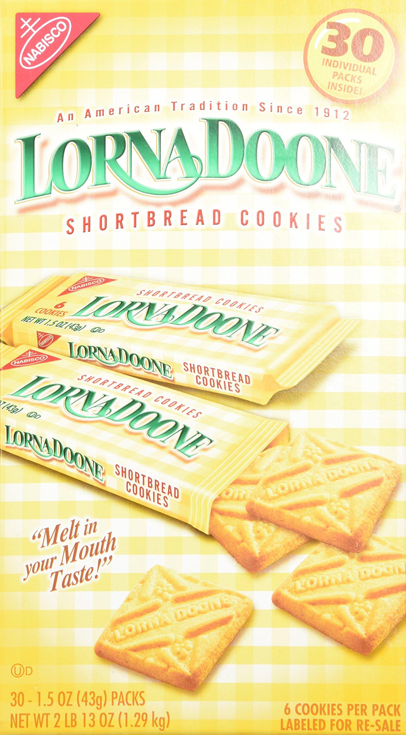 Lorna Doone-Shortbread Cookies, 30/1.50z Packs by Lorna Doone