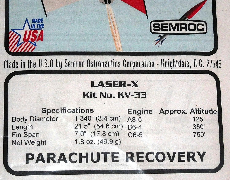 SEMROC Flying Model Rocket Kit Cherokee D