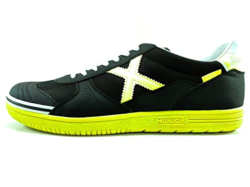 Munich Zapatillas G-3 Negro/Amarillo 45
