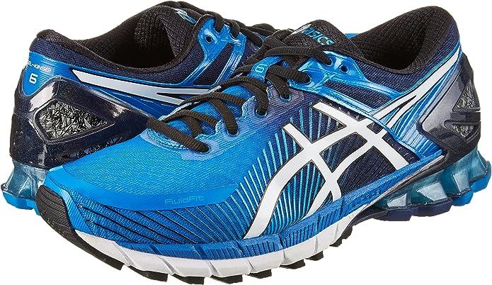 Asics T644N, Zapatillas de Deporte para Hombre, Azul (Electric Blue/Off White/Vert Island Blue 4200), 41.5 EU: Amazon.es: Zapatos y complementos