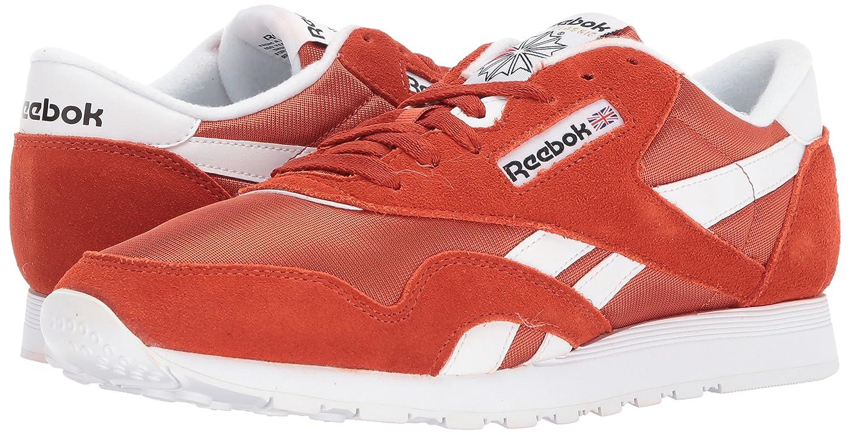 Reebok Classic Sneaker B071YGYKL7 13 D(M) US|Burnt Amber/White