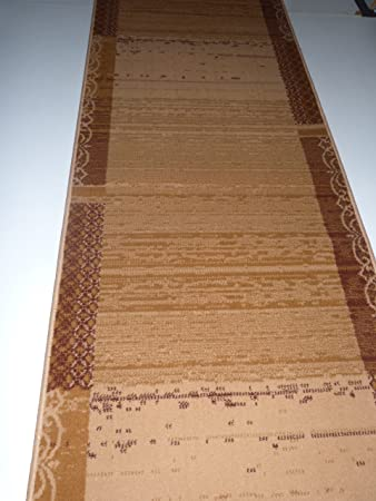 Voile uni 10 lfm Sparpaket terra Dekostoff Gardine Meterware,140 cm breit